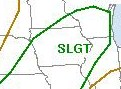 Severe Weather Outlook for Sunday, April 26, 2009