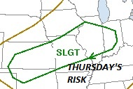 Severe threat for Thursday, April 30, 2009
