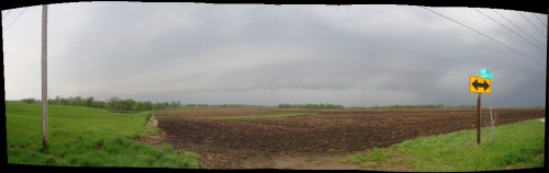 May 13, 2009 Shelf Cloud Panoramic