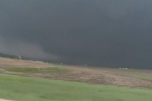 EF-5 Tornado East of New Hartford on Sunday, May 25, 2008