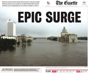 Gazette front page on Friday, June 13, 2008